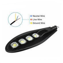 Meanwell Driver Bridgelux Epistar Chip 200W calle LED luz exterior brillante